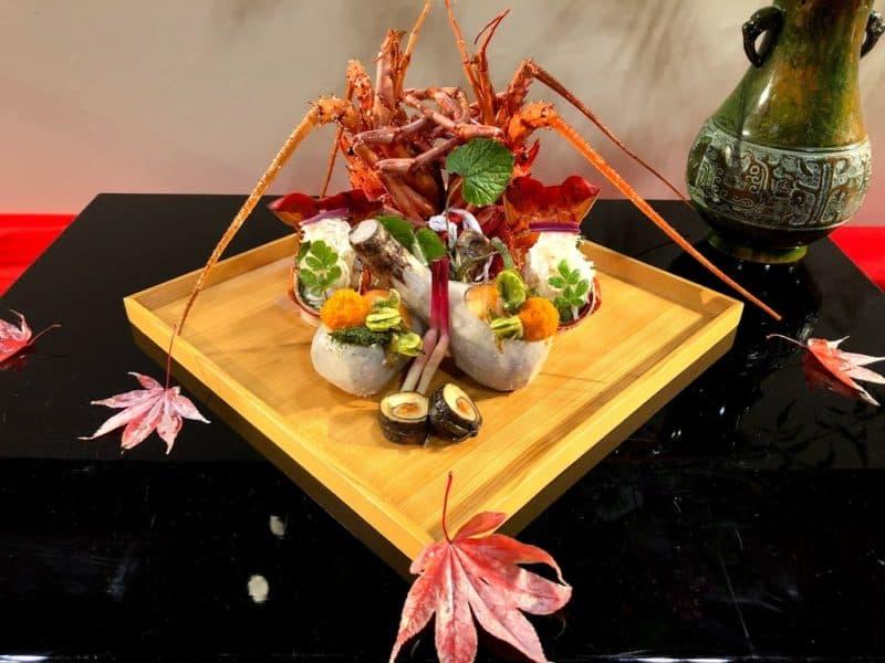 京料理展示会2018の展示料理