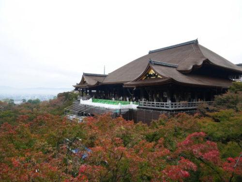 2020年11月7日の清水寺