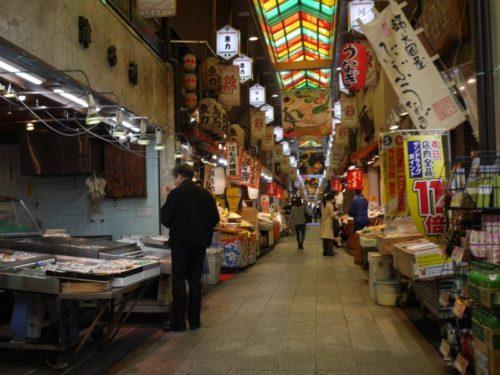 錦市場の商店街