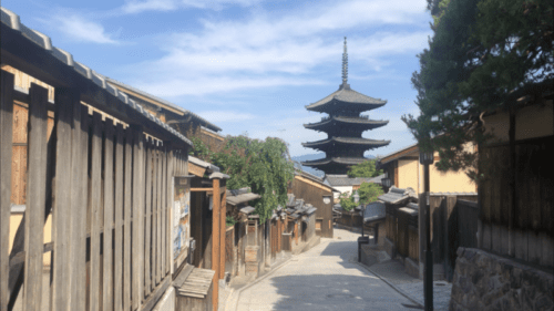 京都東山のシンボル八坂の塔