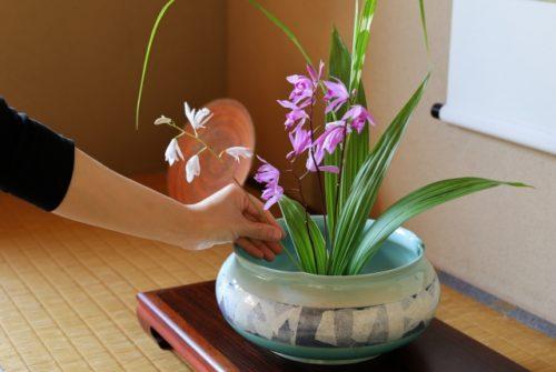 京都で生け花・華道体験