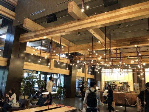 エースホテル京都のオシャレなフロント