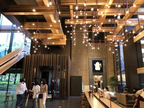 エースホテル京都のオシャレなロビー