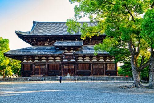東寺の国宝金堂