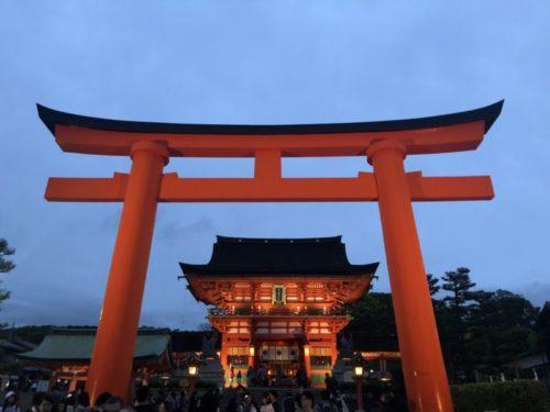 京都駅から伏見稲荷大社へのアクセス方法