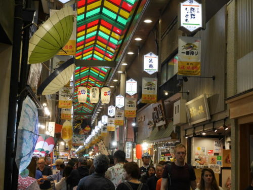 京都駅から錦市場へのアクセス方法